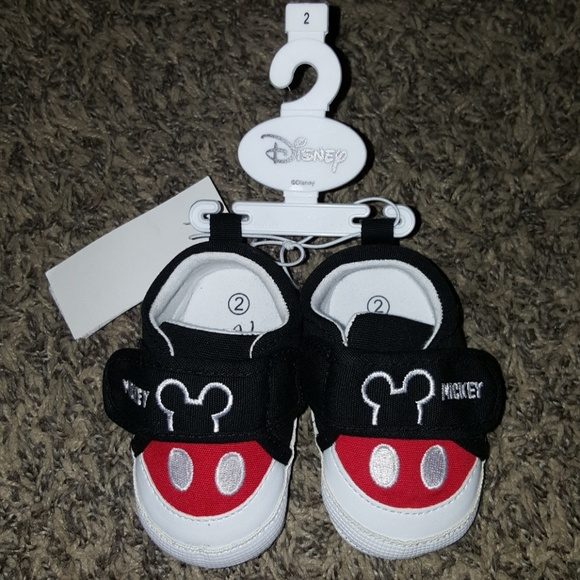 003947ffefc80 Baby mickey mouse shoes